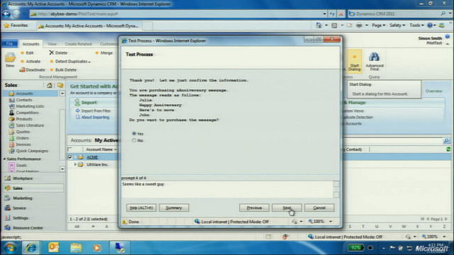 CRM 2011 Workflow Dialogs! Шаг 5