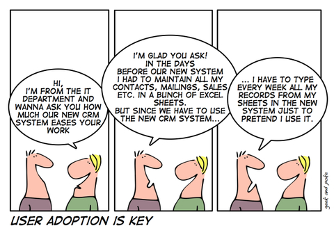 User Adoption Is Key