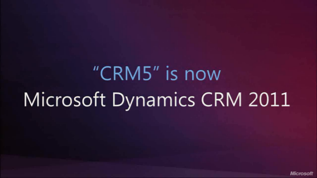 CRM5 is now Microsoft Dynamics CRM 2011